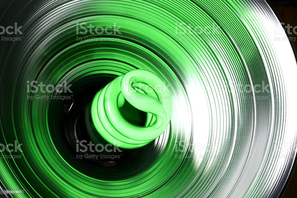 Goin' Green royalty-free stock photo