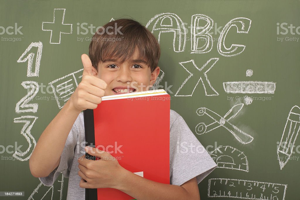 Going Back To Shool royalty-free stock photo