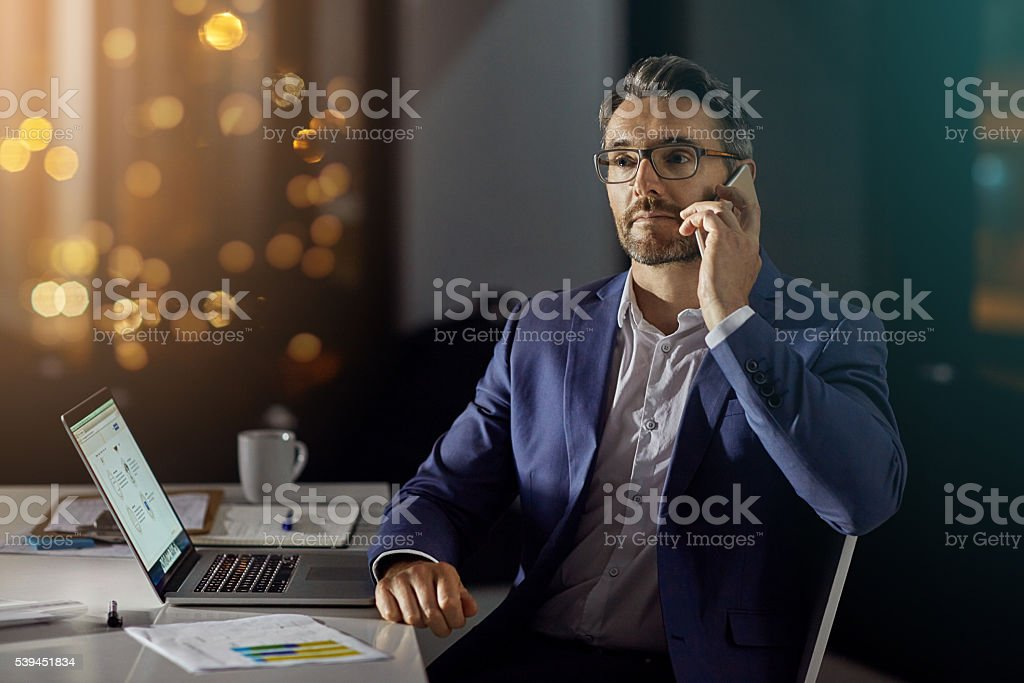 Going beyond the call of duty stock photo