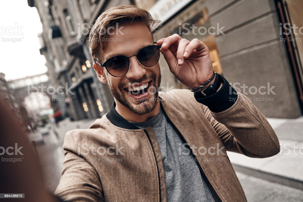 Going crazy. stock photo