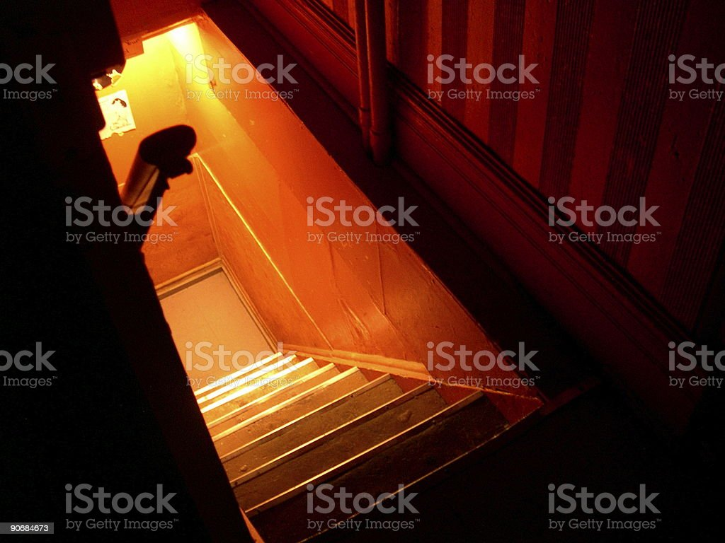 going down royalty-free stock photo