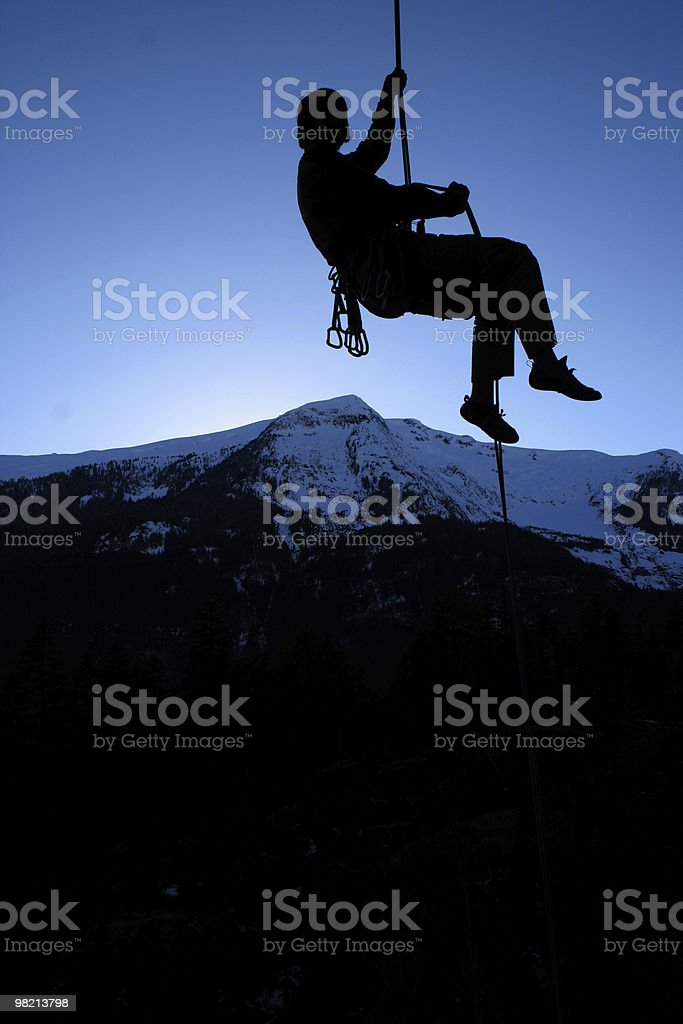 Going down. royalty-free stock photo