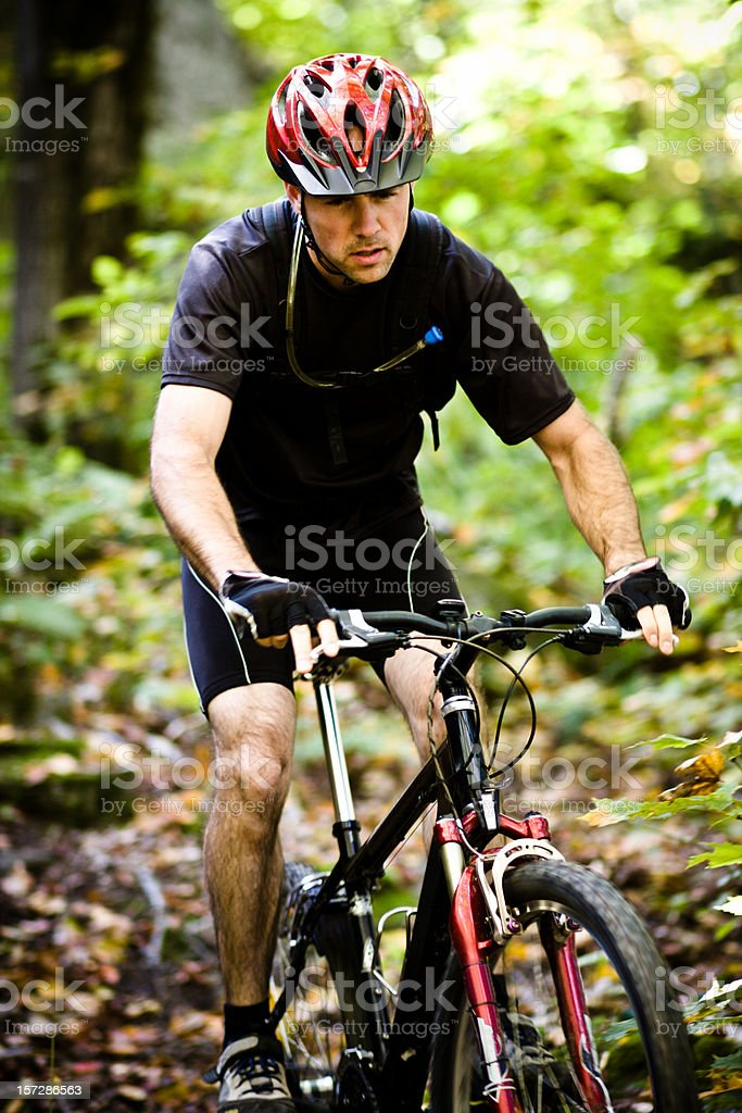 Going downhill royalty-free stock photo