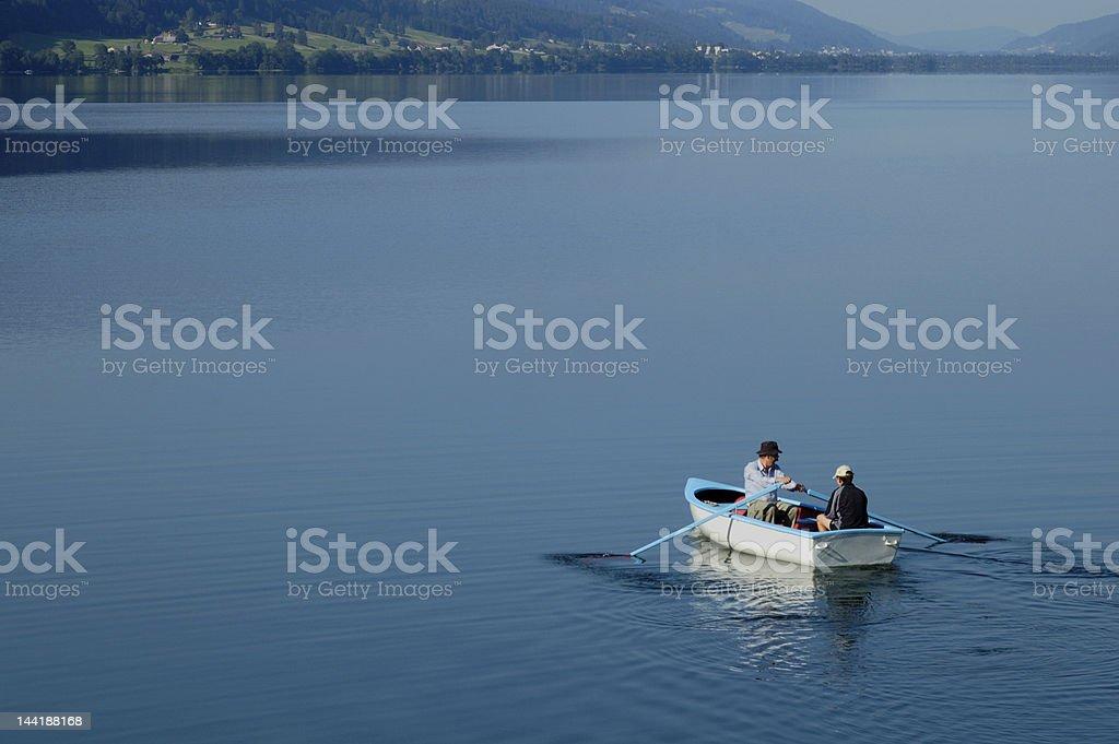 Going fishing royalty-free stock photo