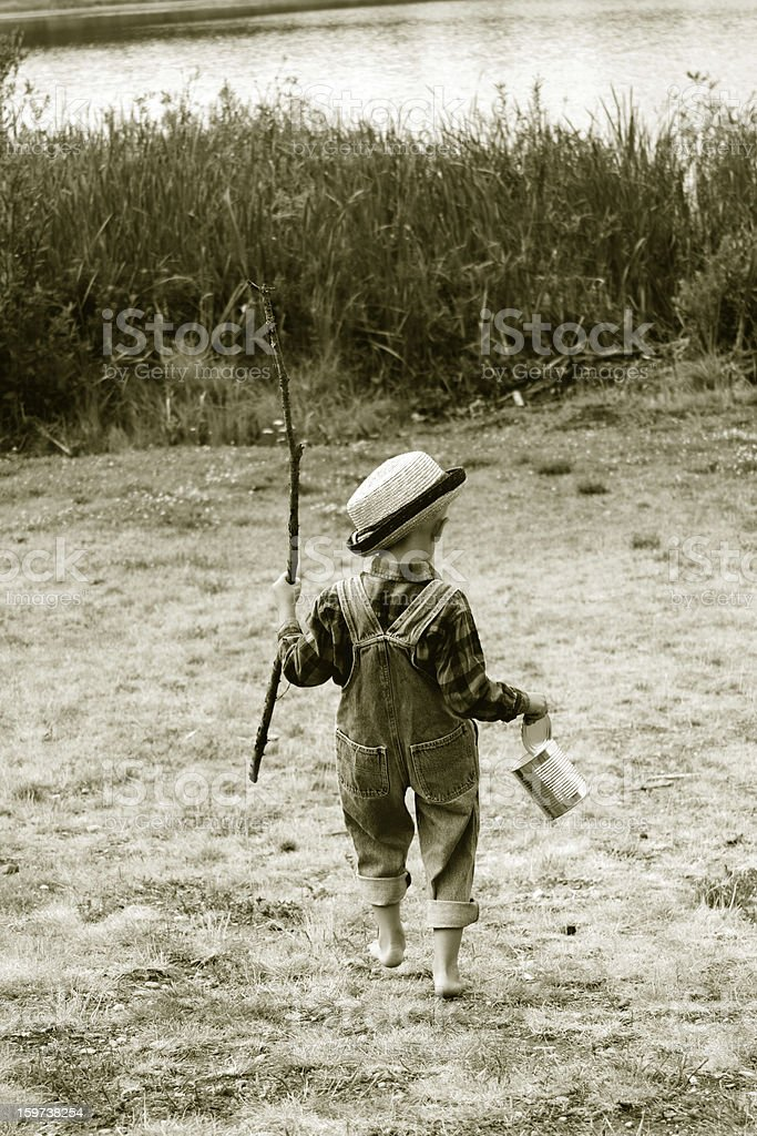 Going Fishing stock photo