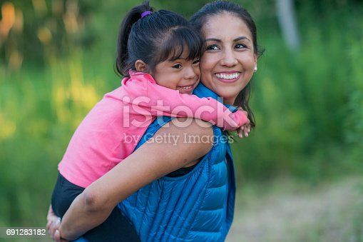 istock Going for a Walk with Mom 691283182