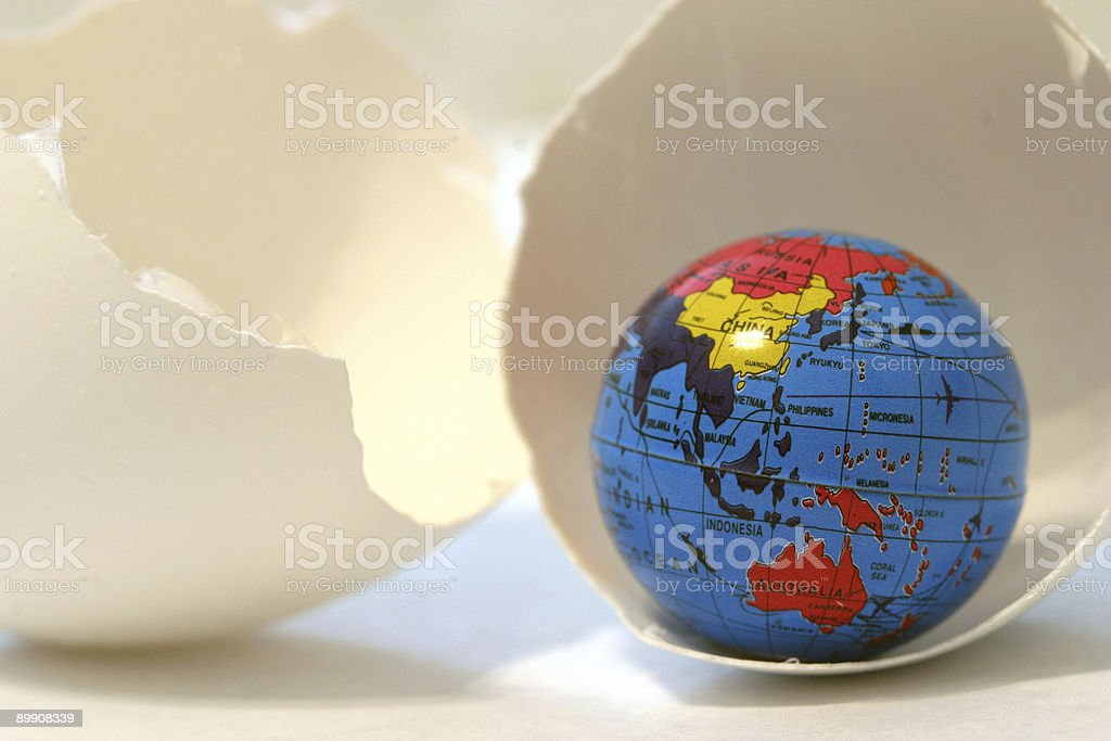 Going Global royalty-free stock photo
