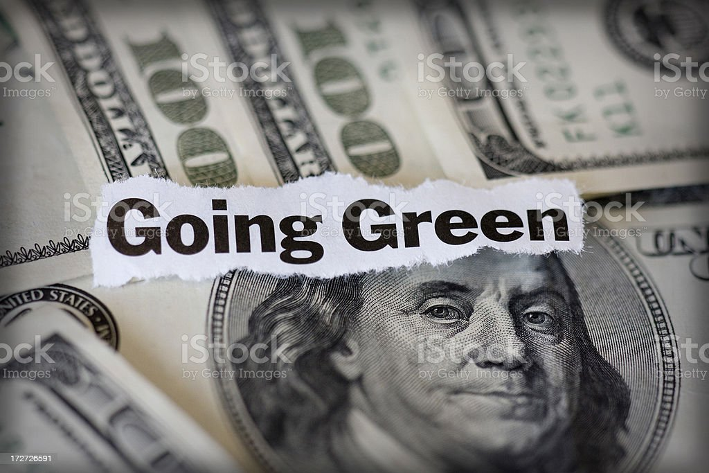 going green royalty-free stock photo