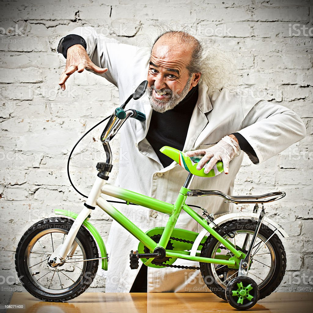 Going mad! royalty-free stock photo