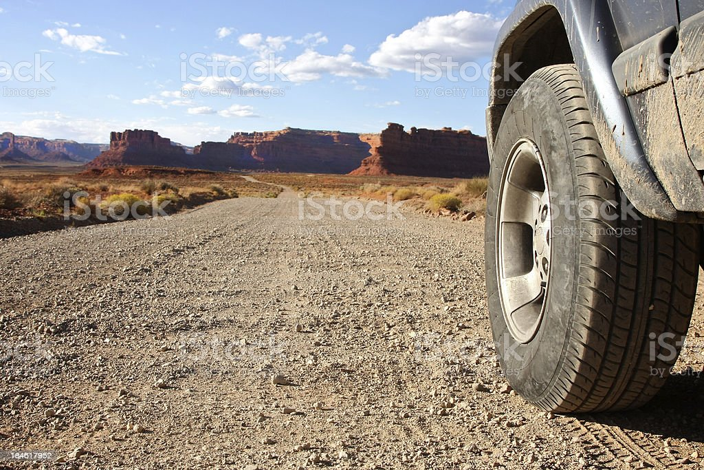 Going off road royalty-free stock photo