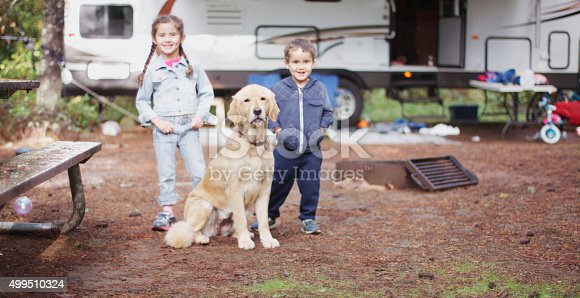 istock Going on a Camping Trip in the Woods 499510324