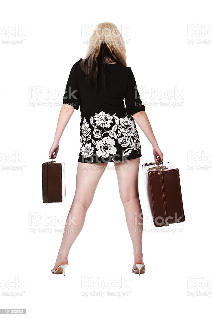 Going on holiday royalty-free stock photo