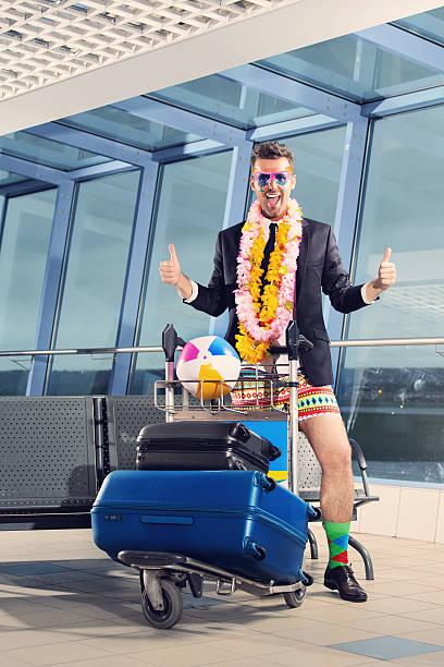 vous partez en vacances - valise humour photos et images de collection