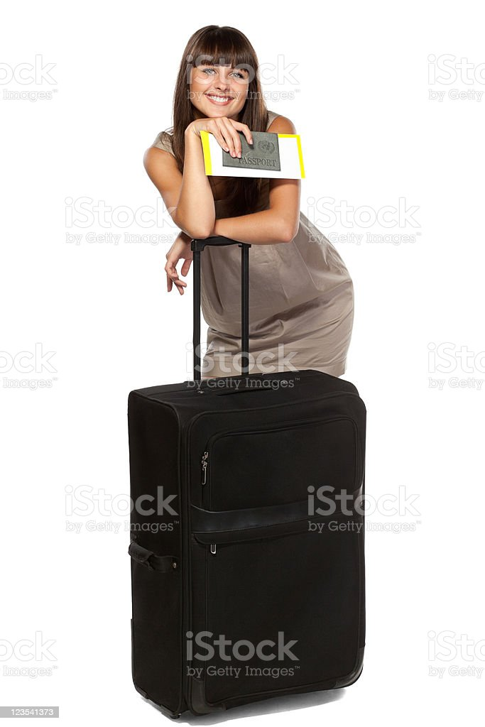 Going on vacations royalty-free stock photo
