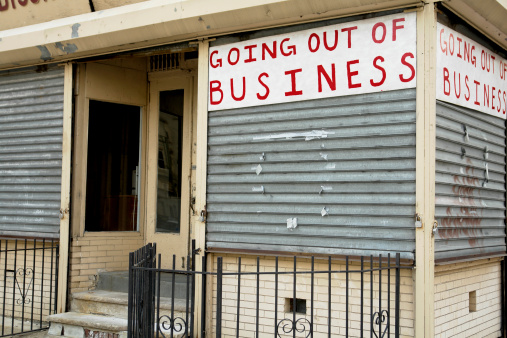 Going Out Of Business Stock Photo - Download Image Now