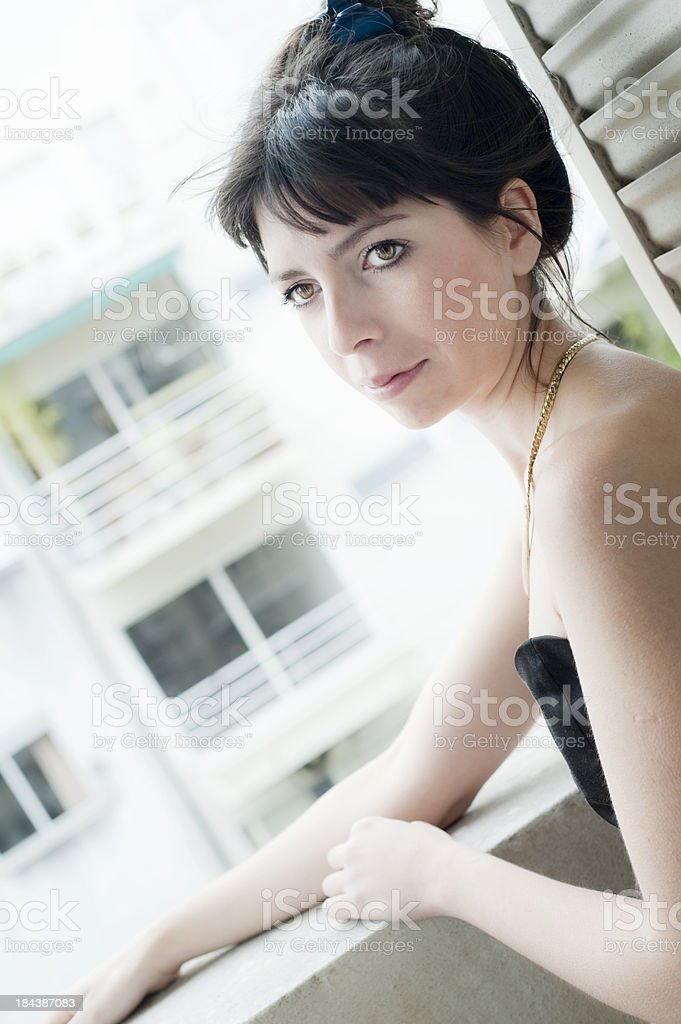 Going Out. royalty-free stock photo