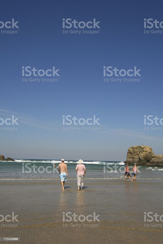 Going Paddling royalty-free stock photo