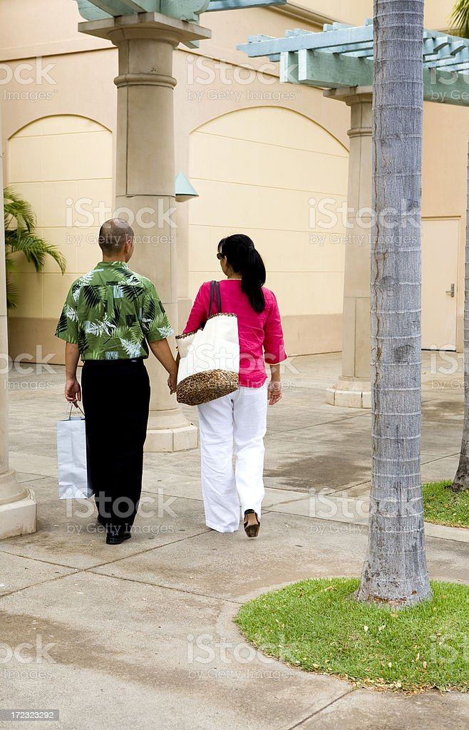 Going Shopping royalty-free stock photo
