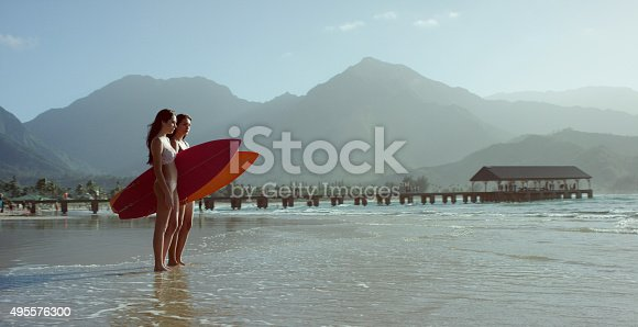 istock Going Surfing in Hawaii 495576300