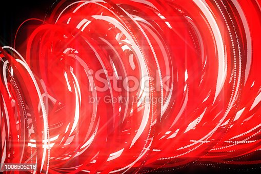 istock Going Through A Tunnel With High Speed 1006505218