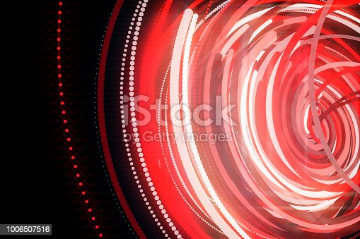 istock Going Through A Tunnel With High Speed 1006507516