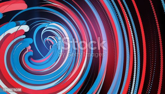 istock Going Through A Tunnel With High Speed 1015975038