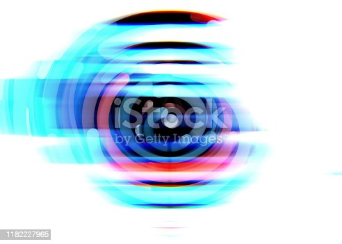 istock Going Through A Tunnel With High Speed 1182227965