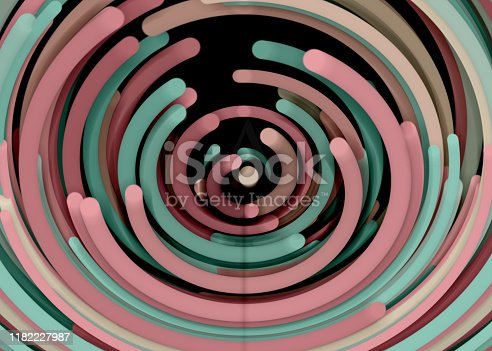 istock Going Through A Tunnel With High Speed 1182227987