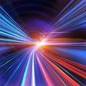 istock Going Through A Tunnel With High Speed 155139863