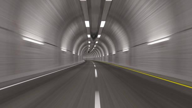 Durch einen leeren Tunnel – Foto