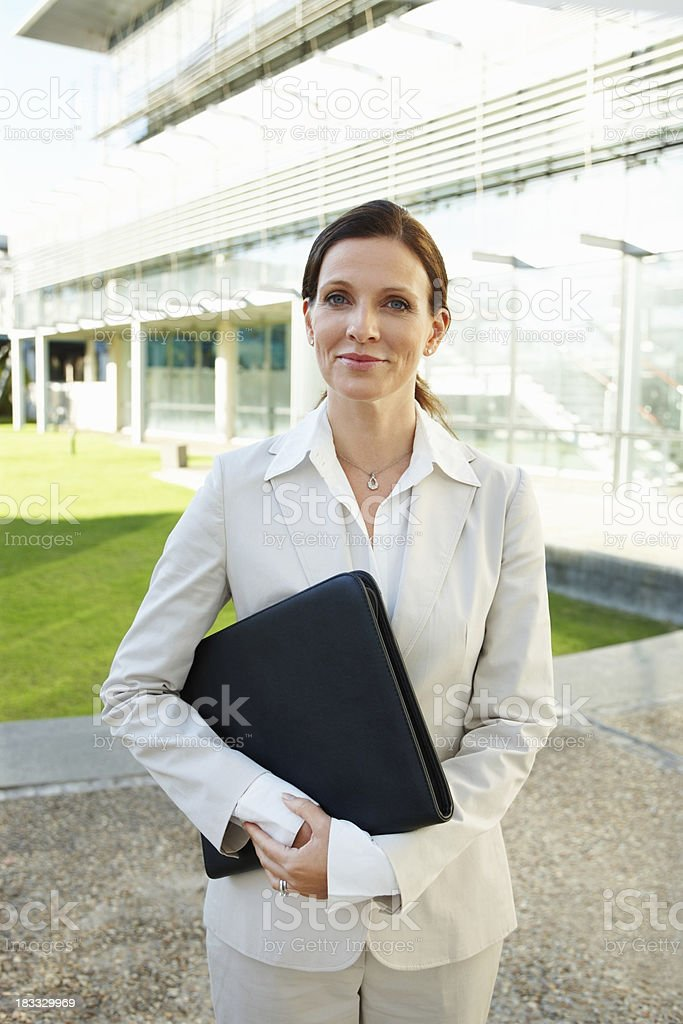Going to an interview royalty-free stock photo