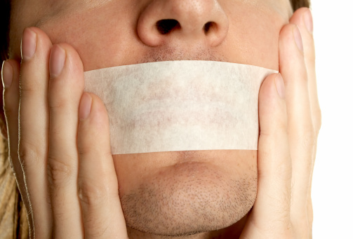Going To Keep Silence Stock Photo - Download Image Now