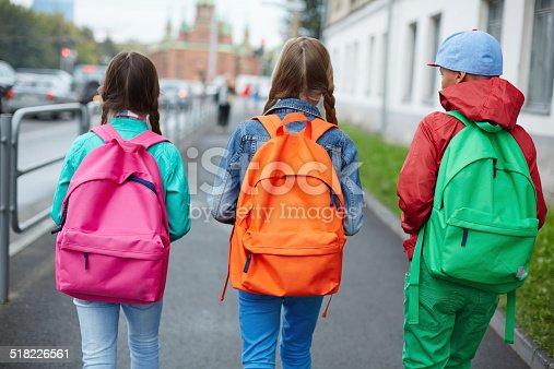 istock Going to school 518226561