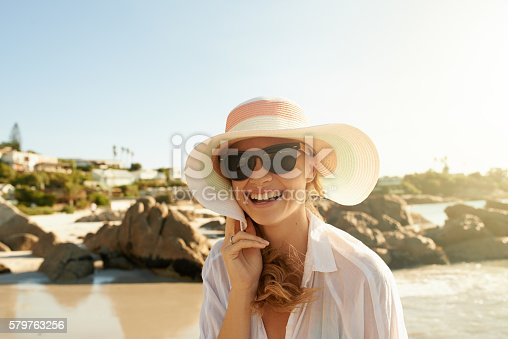 578302556 istock photo Going to the beach always guarantees a good time 579763256