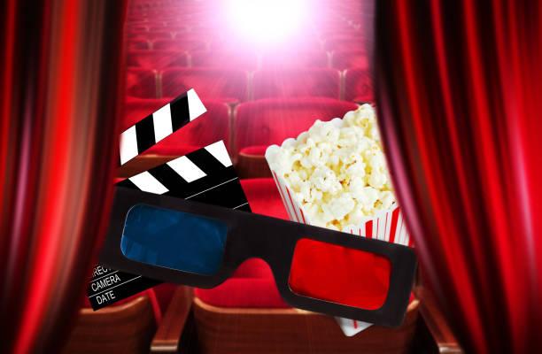 zum kino - oscar filme stock-fotos und bilder