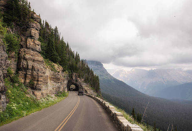 going to the sun road - going to the sun road stock pictures, royalty-free photos & images