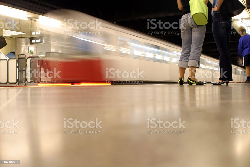 Going Underground royalty-free stock photo