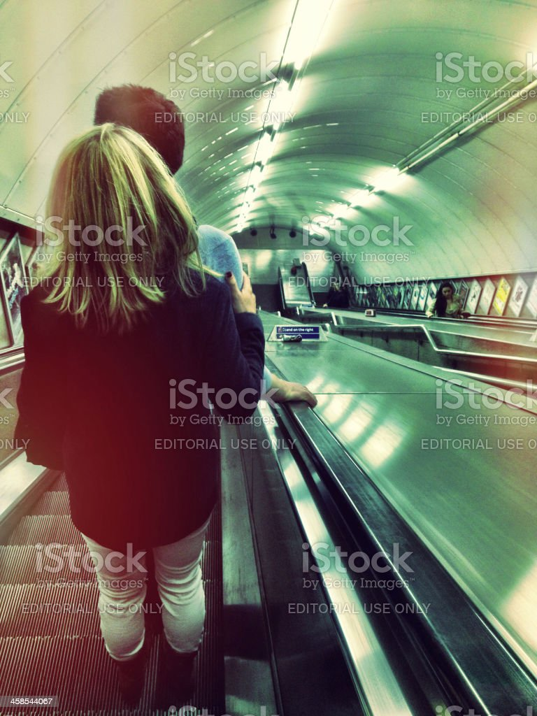 Going underground royalty-free stock photo