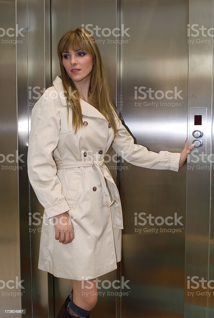 Going Up or Down? stock photo