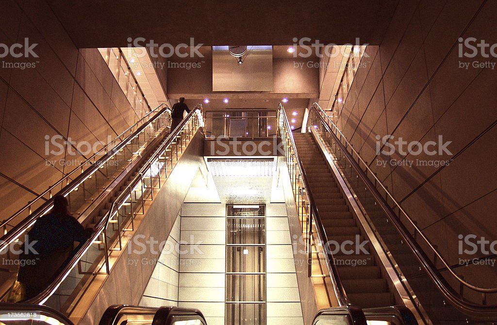 Going up - Sir! royalty-free stock photo