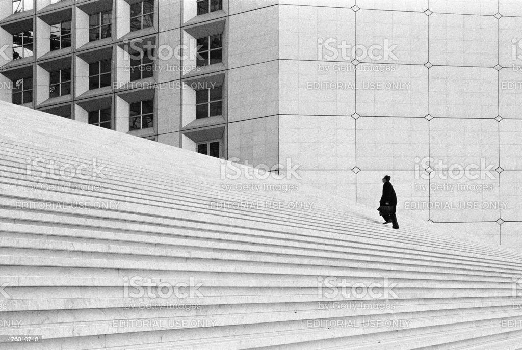 Vous montez les escaliers - Photo