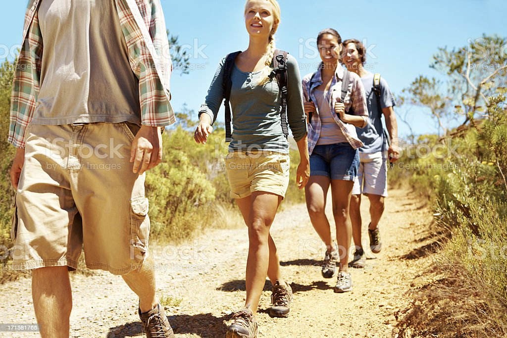 Going where the road takes us royalty-free stock photo
