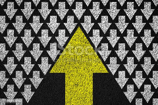 1007383644istockphoto Going your own way background 1186993252