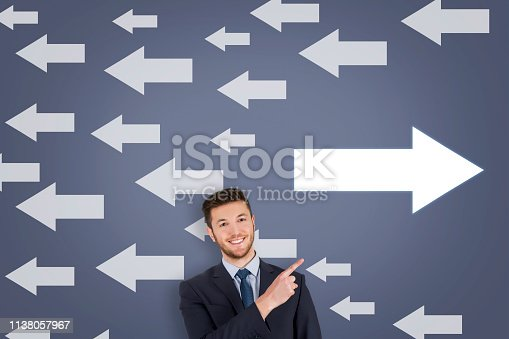 621936988istockphoto Going Your Own Way on Touch Screen 1138057967