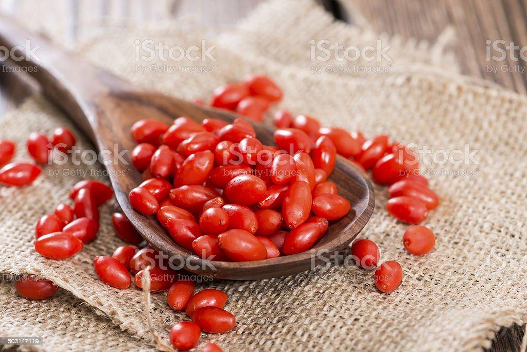 Goji Berries (Wolfsberry) stock photo