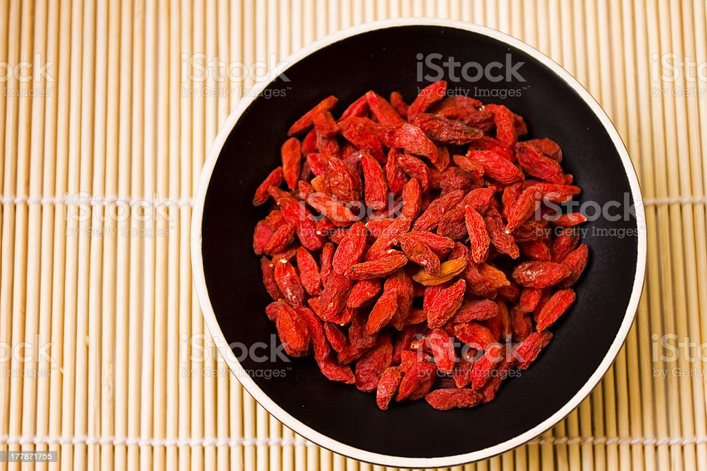 Goji Berry Fruit royalty-free stock photo