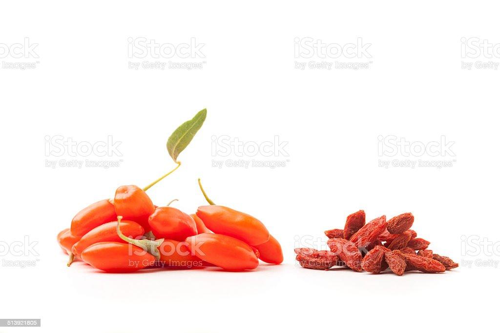 goji berry stock photo