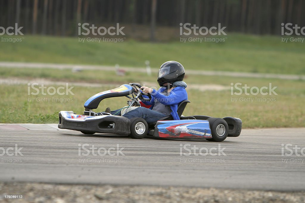 Go-kart royalty-free stock photo