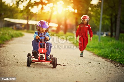 1035136022istockphoto Go-kart race is about to begin 602331016