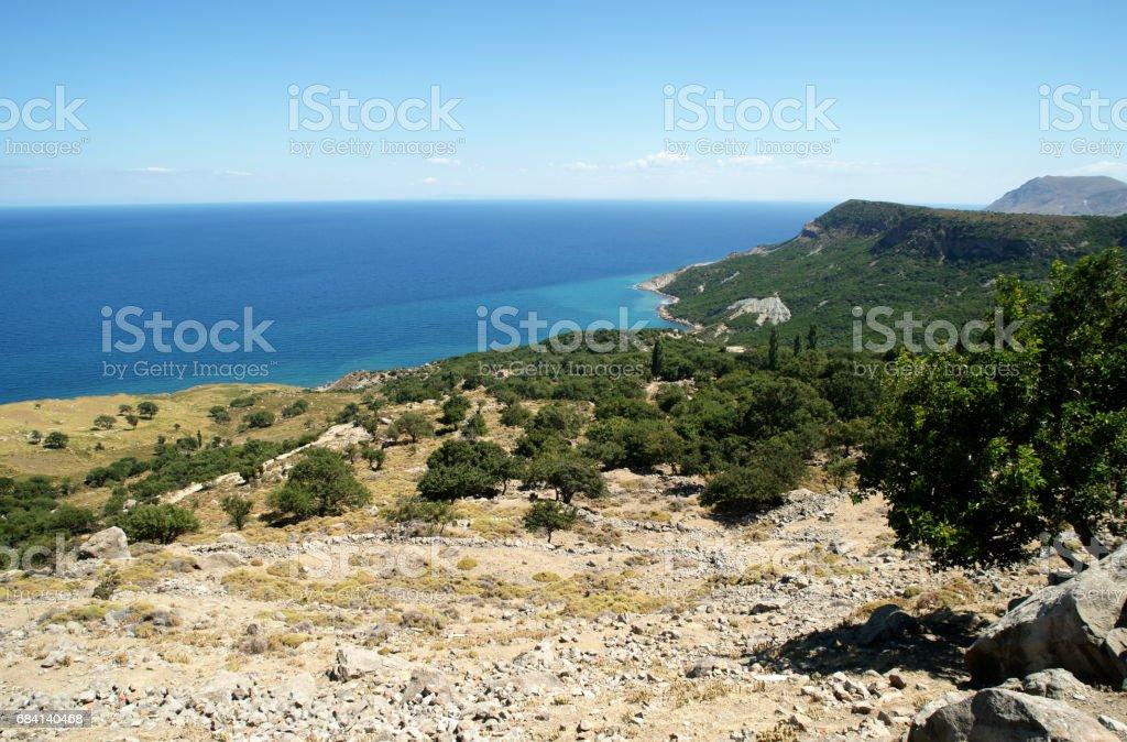gokceada coast foto stock royalty-free
